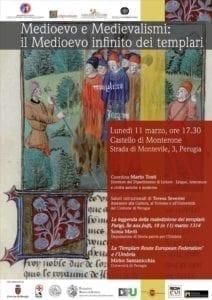 Medioevo e Medievalismi: il Medioevo infinito dei templari @ Castello di Monterone