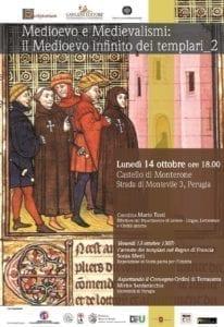 Medioevo e Medievalismi: il Medioevo infinito dei templari II @ Castello di Monterone